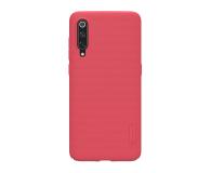 Nillkin Super Frosted Shield do Xiaomi Mi 9 czerwony - 497135 - zdjęcie 1