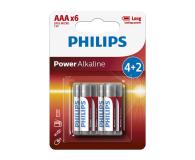 Philips Power Alkaline AAA (6szt) - 489642 - zdjęcie 1