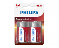 Philips Power Alkaline D LR20 (2szt) - 489641 - zdjęcie 1