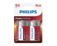 Philips Power Alkaline D LR20 (2szt) - 489640 - zdjęcie 1