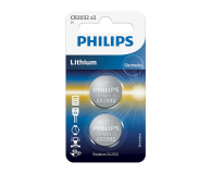 Philips Lithium button cell CR2032 2szt - 489669 - zdjęcie 1