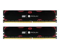 GOODRAM 8GB 2400MHz IRIDIUM Black CL15 (2x4GB) - 361600 - zdjęcie 1