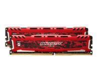 Crucial 16GB 2666MHz Ballistix Sport CL16 RED (2x8GB) SR  - 498574 - zdjęcie 2