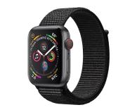 Apple Watch 4 44/SpaceGray Aluminium/BlackSport Loop LTE - 491838 - zdjęcie 1
