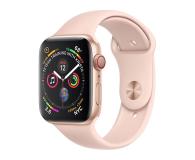 Apple Watch 4 40/Gold Aluminium/Pink Sport LTE - 491814 - zdjęcie 1