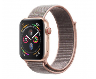 Apple Watch 4 44/Gold Aluminium/Pink Sport Loop LTE - 491834 - zdjęcie 1