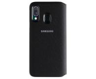 Samsung Wallet Cover do Galaxy A40 czarny - 493076 - zdjęcie 2