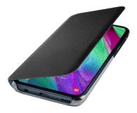 Samsung Wallet Cover do Galaxy A40 czarny - 493076 - zdjęcie 3