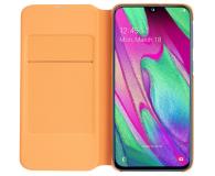 Samsung Wallet Cover do Galaxy A40 biały - 493077 - zdjęcie 3