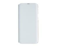 Samsung Wallet Cover do Galaxy A40 biały - 493077 - zdjęcie 1