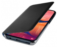 Samsung Wallet Cover do Galaxy A20e czarny - 493091 - zdjęcie 3