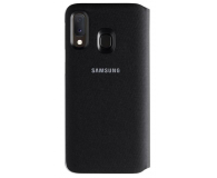 Samsung Wallet Cover do Galaxy A20e czarny - 493091 - zdjęcie 2