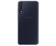 Samsung Wallet Cover do Galaxy A70 czarny - 493086 - zdjęcie 2