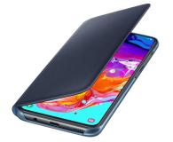 Samsung Wallet Cover do Galaxy A70 czarny - 493086 - zdjęcie 3