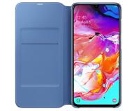Samsung Wallet Cover do Galaxy A70 czarny - 493086 - zdjęcie 4