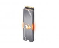 Gigabyte 512GB M.2 PCIe NVMe AORUS RGB - 499476 - zdjęcie 4
