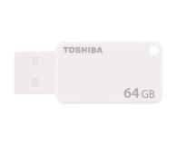 Toshiba 64GB U303 biały USB 3.0 OEM - 502846 - zdjęcie 1
