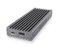 ICY BOX Obudowa do dysku M.2 NVMe (USB-C, M-Key) - 499605 - zdjęcie 1
