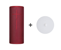 Ultimate Ears BOOM 3 Sunset Red + Power UP  - 502446 - zdjęcie 1