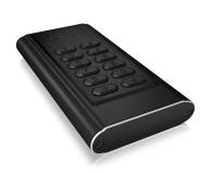 ICY BOX Obudowa do dysku M.2 SATA (USB 3.0, szyfrowana) - 499593 - zdjęcie 1