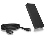 ICY BOX Obudowa do dysku M.2 SATA SSD (USB-C) - 499600 - zdjęcie 3
