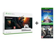 Microsoft Xbox One S 1TB SOTTR+Disneyland Adventures+GOW - 499797 - zdjęcie 1