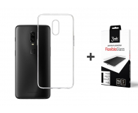 3mk Zestaw Clear Case + Flexible Glass do OnePlus 6t - 500053 - zdjęcie 1