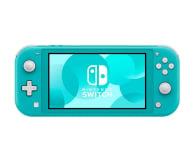 Nintendo Switch Lite (Morski) + Zelda: Link's Awakening - 521185 - zdjęcie 2