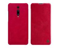 Nillkin Etui Skórzane Qin do Xiaomi Mi 9T/Mi 9T Pro Red - 506491 - zdjęcie 1