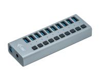 i-tec HUB USB 3.0 (10 portów, ładowanie do 10W) - 503661 - zdjęcie 1