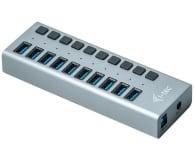 i-tec HUB USB 3.0 (10 portów, ładowanie do 10W) - 503661 - zdjęcie 2