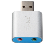 i-tec Adapter USB - Audio (2x Minijack 3,5mm) - 503648 - zdjęcie 2
