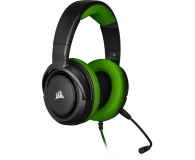 Corsair HS35 Stereo Gaming Headset (zielony)  - 504083 - zdjęcie 3