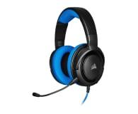 Corsair HS35 Stereo Gaming Headset (niebieski)  - 504081 - zdjęcie 1
