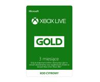 Microsoft XBOX Live GOLD 3 mc ESD - 507147 - zdjęcie 1