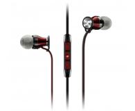 Sennheiser Momentum In-Ear M2 IEi czarno-czerwony - 443363 - zdjęcie 1