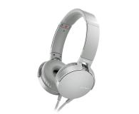Sony MDR-XB550AP Białe - 507498 - zdjęcie 1