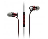 Sennheiser Momentum In-Ear M2 IEG czarno-czerwony - 443361 - zdjęcie 1