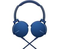Sony MDR-XB550AP Niebieskie - 507495 - zdjęcie 2