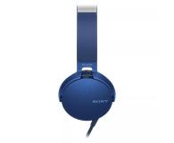 Sony MDR-XB550AP Niebieskie - 507495 - zdjęcie 3