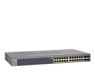 Netgear 28p GS728TP-200EUS (24x100/1000Mbit 4xSFP) PoE  - 503702 - zdjęcie 1