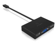 ICY BOX Stacja dokująca (USB-C, HDMI, DisplayPort, VGA) - 505356 - zdjęcie 3