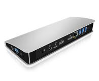 ICY BOX Stacja dokująca (USB-C, PD, HDMI, DisplayPort) - 505349 - zdjęcie 2