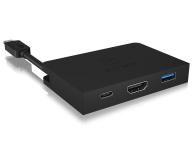 ICY BOX Stacja dokująca (USB-C, HDMI, aluminium) - 505420 - zdjęcie 2