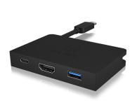 ICY BOX Stacja dokująca (USB-C, HDMI, aluminium) - 505420 - zdjęcie 1