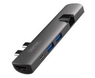 Unitek USB-C - USB, HDMI, RJ-45, Thunderbolt3 - 509646 - zdjęcie 1