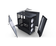 Phanteks Eclipse P400A Tempered Glass DRGB Digital Black - 509787 - zdjęcie 2