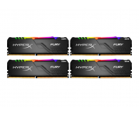 HyperX 32GB 3200MHz Fury RGB CL16 (4x8GB) - 511005 - zdjęcie 1