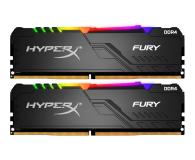 HyperX 32GB (2x16GB) 3200MHz CL16 Fury RGB - 511018 - zdjęcie 1