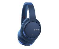 Sony WH-CH700NL Niebieskie - 511051 - zdjęcie 2